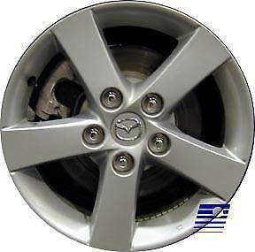 2004 Mazda 3 Wheels