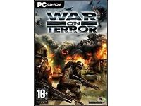 War on terror pc game for £3