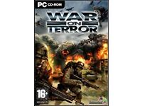 war on terrors pc game for £2