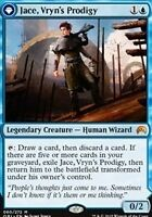 Magic the gathering MTG Jace, Vryn's Prodigy Magic origins