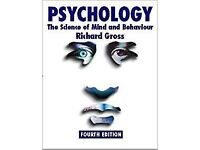 PSYCHOLOGY - THE SCIENCE OF MIND AND BEHAVIOUR RICHARD GROSS