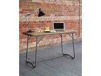 LOMBOK Solid Wood Industrial Desk / Table