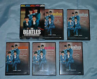 THE BEATLES: A long and winding road 5 dvd box set