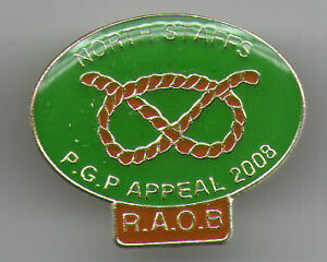 RAOB - Lapel Badge - North Staffordshire PGPs Appeal 2008