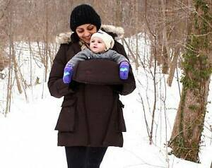 M Coat (size small) maternity coat and baby wearing coat