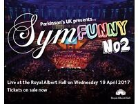 Events Volunteer needed for Charity Concert - Symfunny at the Royal Albert Hall