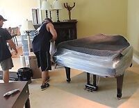 B&V PIANO MOVING, PROFESSIONAL & RELIABLE