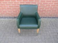 Tub Style Chair in Green