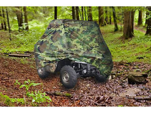 """Waterproof UTV Side By Side Cover Fits 120"""" - Camouflage"""