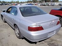 silver 2003 Acura TL for quick sale ready for winter