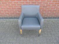 Grey Tub Style Chair