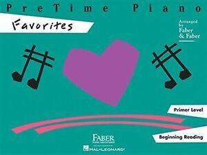 Pretime piano favourites by Faber
