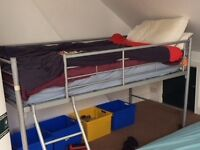 kids bed single bunk bed with ladder