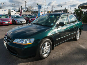 2000 HONDA ACCORD EX ** V4 - FULLY LOADED - NO ACCIDENT NO RUST