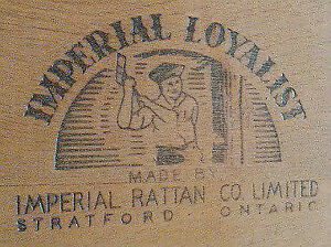 Imperial Loyalist of Stratford hinged vestibule chair/stand $40 Kitchener / Waterloo Kitchener Area image 2