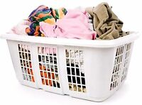 Wash and fold laundry service (pick up and delivery free)