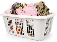 wash and fold laundry services (pick up and delivery free)