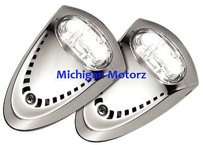Attwood Stainless Steel LED Bow Docking Lights - 6522SS7