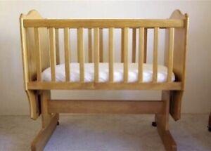 Boori rocking cradle with mattress & more baby items Parramatta Parramatta Area Preview