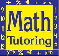 Experienced Math Tutor