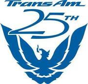 25th Anniversary Trans Am