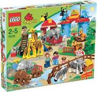 Rare and Retired LEGO Duplo Set #5635 Legoville Big City Zoo