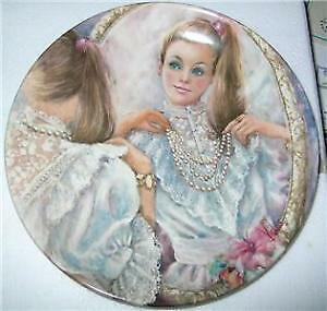 """""""The Pearl"""" collector plate by Wedgewood"""
