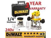 Dewalt 1/4 plunge router NEW