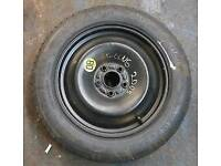 "FORD FOCUS 16"" spare wheel ( space saver ) all 5 stud ford's"