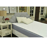 "9"" Mem Foam Mattress Gel EnviroTech Queen w/Cover & Pillow NEW!"