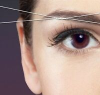 Threading/waxing