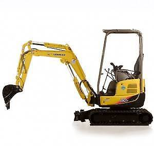 1.7 Tonne excavator including trailer 7 days hire!!!!