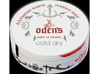SNUS, oden's extreme cold dry ( 5 units )
