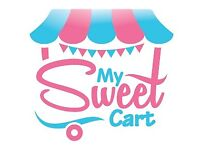 Sweet Candy Cart Ice Cream Desserts Hire Kids Birthdays Weddings Parties