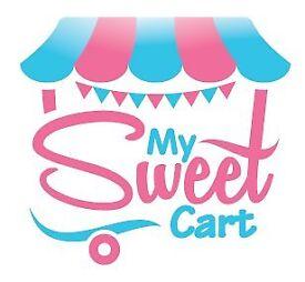 Sweet Candy Cart Desserts Ice Cream Hire Kids Birthdays Weddings Parties Corporate Events