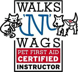 Walks 'n' Wags Pet First Aid Class - January 27th