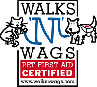 Walks 'N' Wags Pet First Aid Certification Course