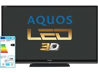 """Sharp aquos 60"""" tv wanted. Dead or alive"""