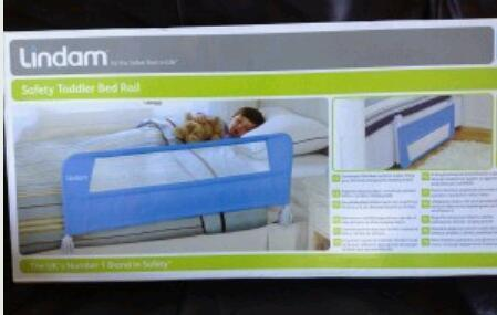 Lindam Blue Bed Guard