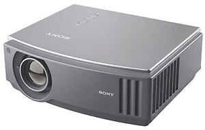 "Sony Projector w/ 100"" screen + soundbar w/ wireless sub"