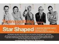 Star Shaped Club Brighton - Trainspotting Special!!