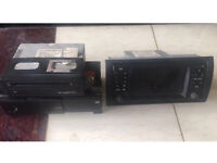 ORIGINAL EUROPEAN BMW X5 SAT NAV GPS & CD EXCHANGER