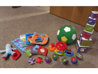 Baby Toy bundle, Iggle Piggle Books Bright Starts