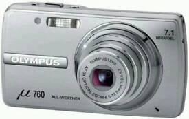 Olympus m760 digital camera