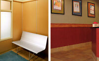 FRL Reinforced Panels - Wall Protective Covers, Strong, Tough