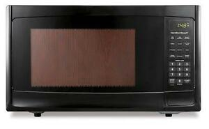 Hamilton Beach 1.1 cu.ft. Stainless Steel Microwave, Black