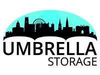 Umbrella in Nottingham- self or pick up storage