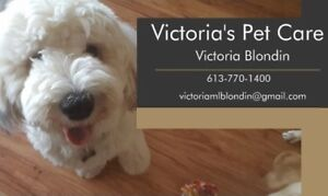 Victoria's Pet Care and Dog Training