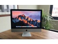 "High Spec Slim Apple imac 21"", quadcore i5, 1TB fusion drive, latest osx, you can test before paying"