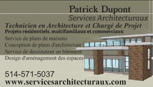 Plans Architecture Plans de Maison Technicien en Architecture